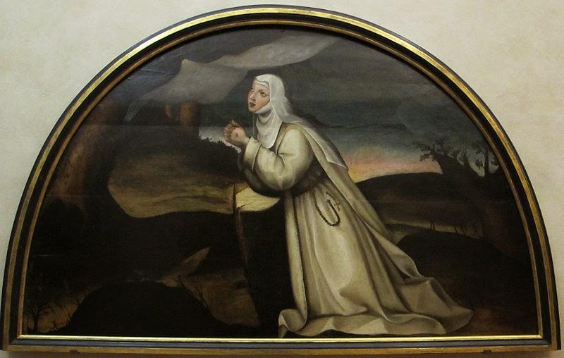 Sainte Catherine Recevant les Stigmates, Plautilla Nelli
