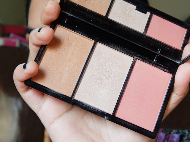 Makeup Revolution Iconic Pro Blush, Bronze, and Brighten