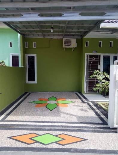 Lantai carport rumah minimalis type 30