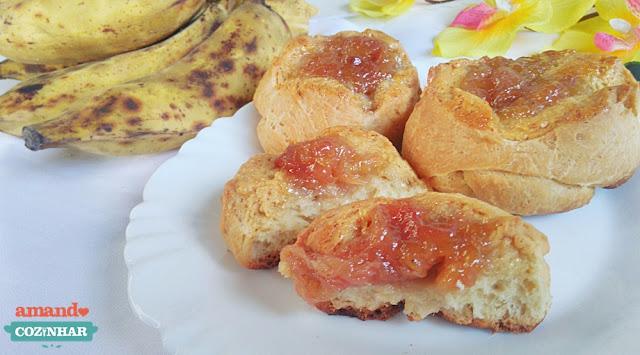 pão doce de banana