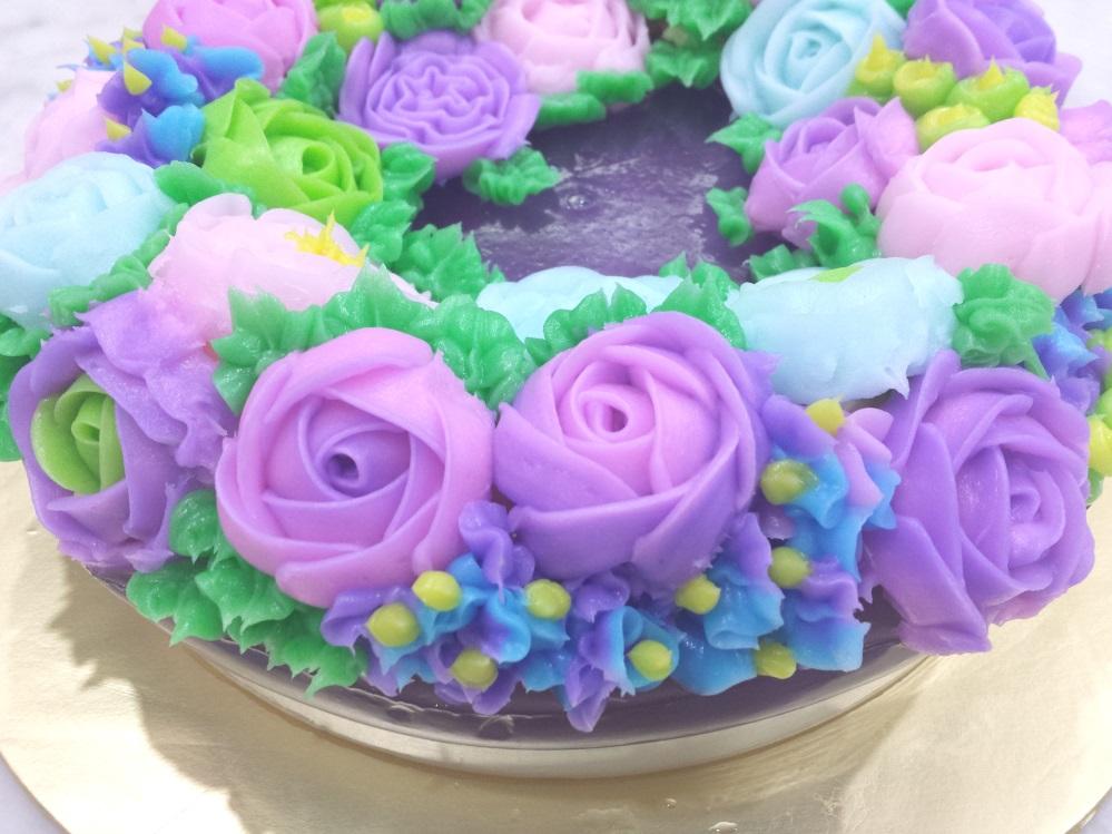 Rose Jelly Cake Recipe: Yochana's Cake Delight! : Rose Jelly Cream Pudding