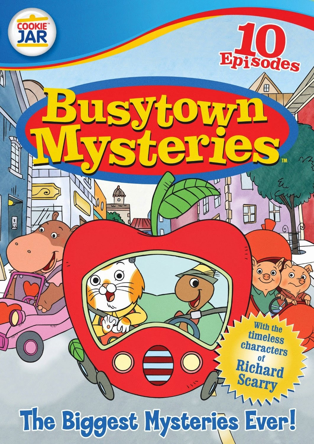 Busytown Mysteries: The Bigges...