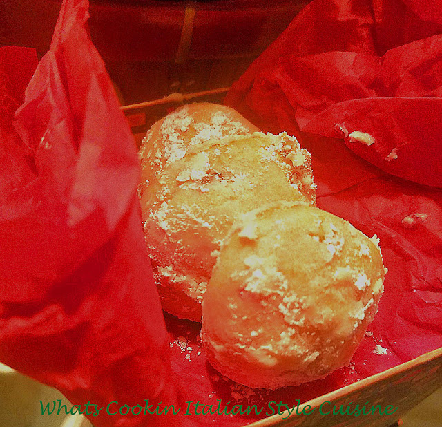 Cherry Almond Chocolate Snowball Cookies #christmas #cookie # baking