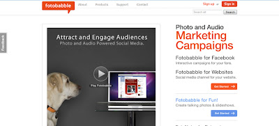 Fotobabble, crear fotografías que hablan 1