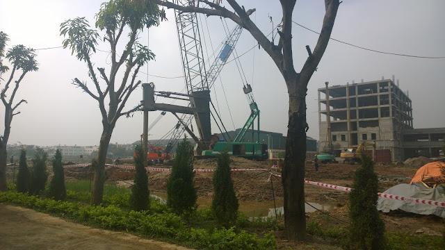Tiến độ xây dựng chung cư Athena Complex