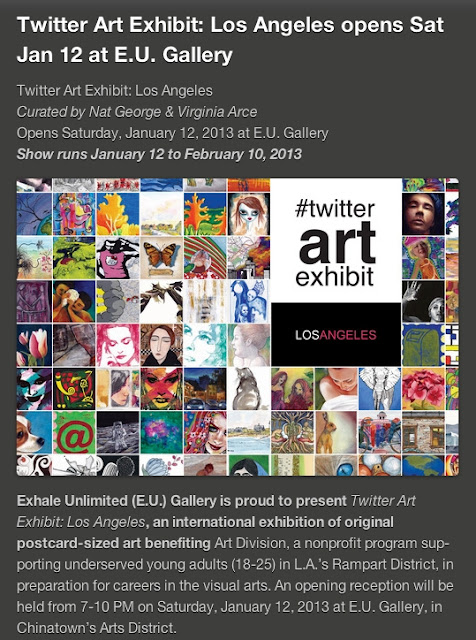 Don't miss this cool Art Exhibit!