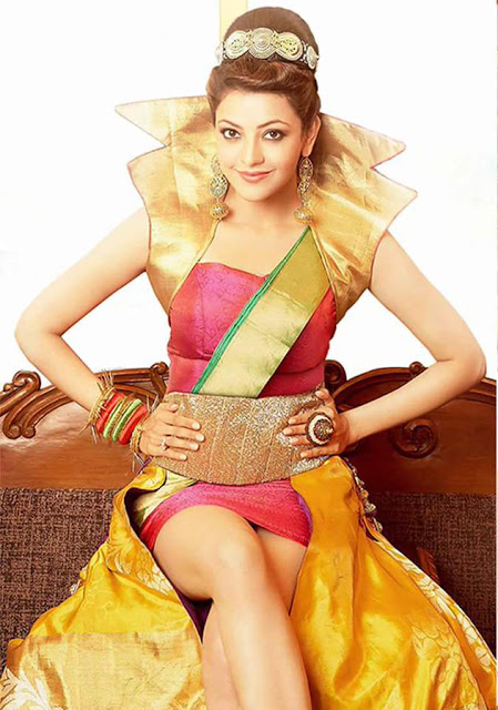 Kajal Agarwal Stunning Hot Photos