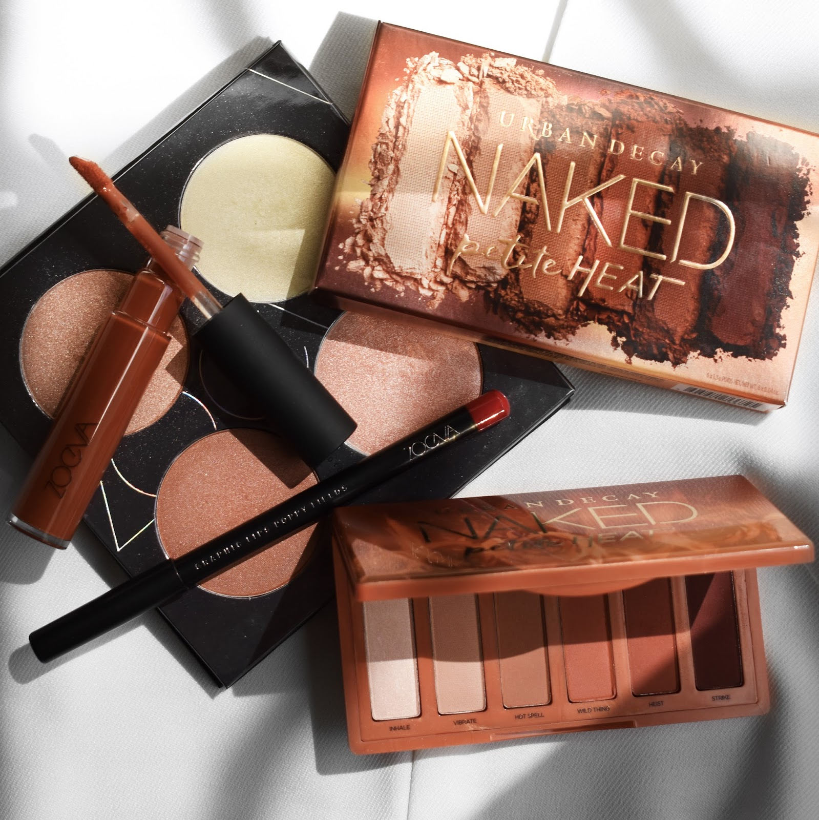 maquillaje con naked heat petite palette makeup look warm tones beauty blogger de belleza mexicana mexico 2