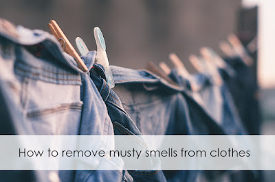 remove musty smells