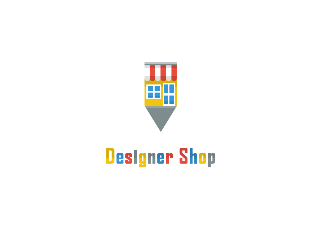 Designer Shop Text Logo Design Inspiration