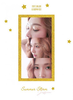 Jessica 제시카 - Summer Storm Lyrics with Romanization