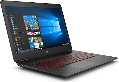 Omen by HP - W 250TX-  17.3-inch Laptop (7th Gen Core i7-7700/16GB/1TB + 256 GB  SSD /Nvidia GeForce 1070 GTX 8 GB Graphics/ Windows 10 Home), Black With MS Office 2016 H & S edition