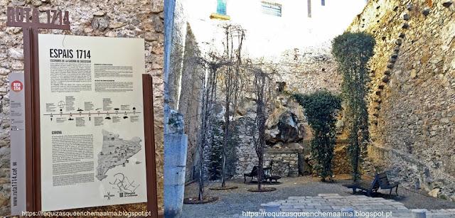 Memórias históricas da Catalunha, Espais 1714