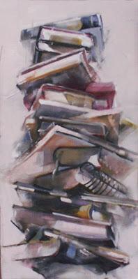 mile high book club oil 24 x 12 x 15