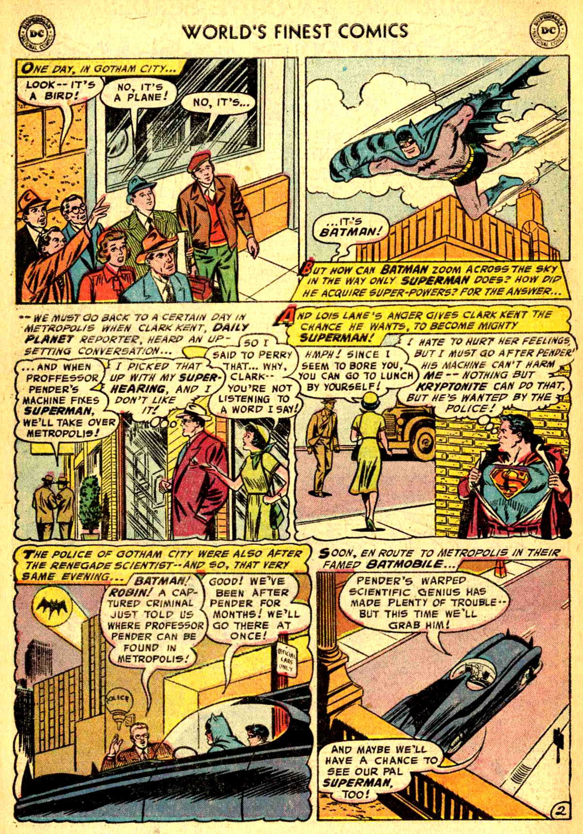 Read online World's Finest Comics comic -  Issue #77 - 4