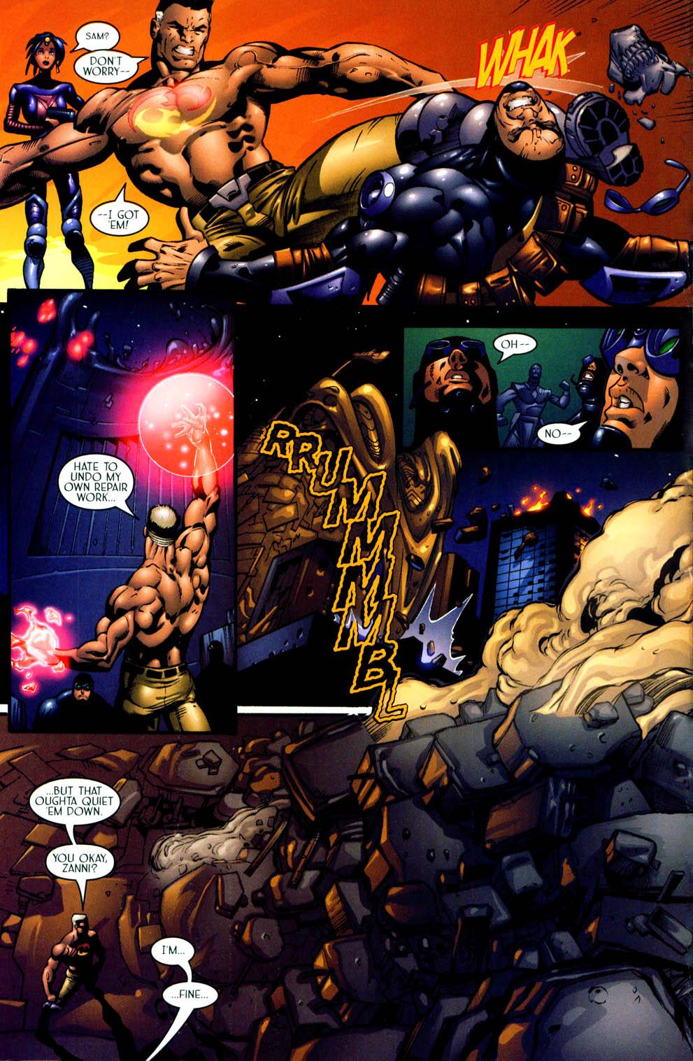 Read online Sigil (2000) comic -  Issue #11 - 19