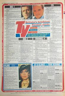 Daily sport newspaper back page 27 Nov 88