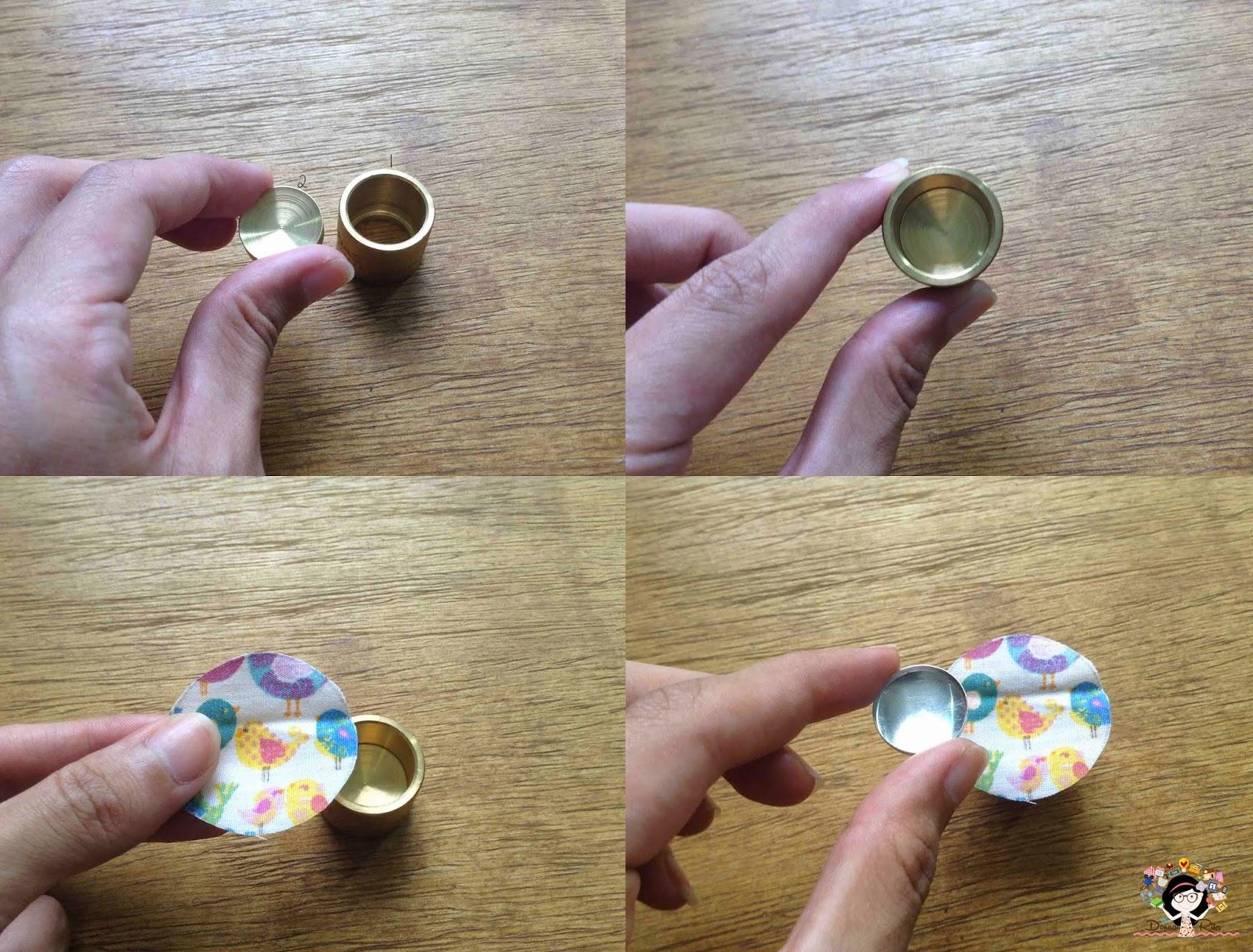 como forrar botões sem o balancim