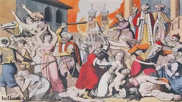 Σαν σήμερα το 1822 δεκάδες χιλιάδες Έλληνες στη Χίο σφαγιάστηκαν από τους Οθωμανούς Τούρκους