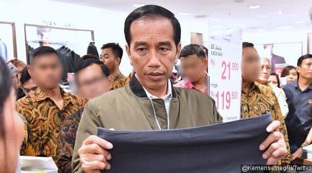 Begini Reaksi Unik Produsen Sandal Yang Dipamerkan Jokowi, Bikin Heboh Pedagang