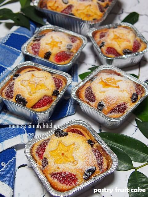 fruits pastry cake recipe