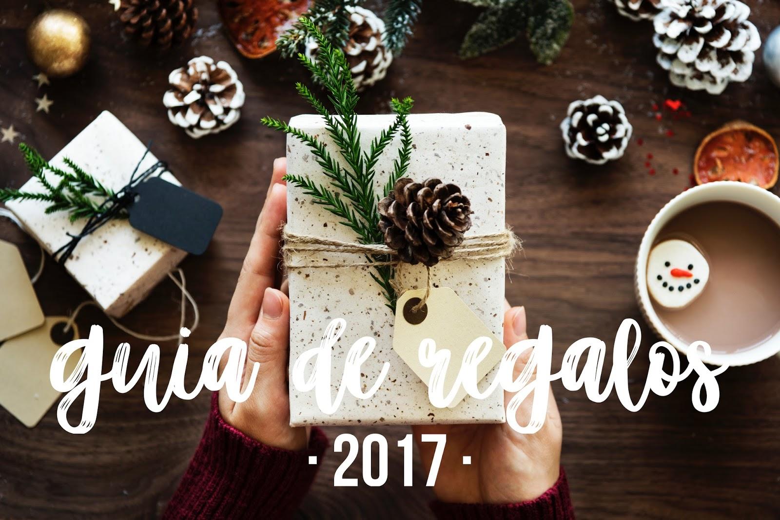regalos, guía, navidad, 2017