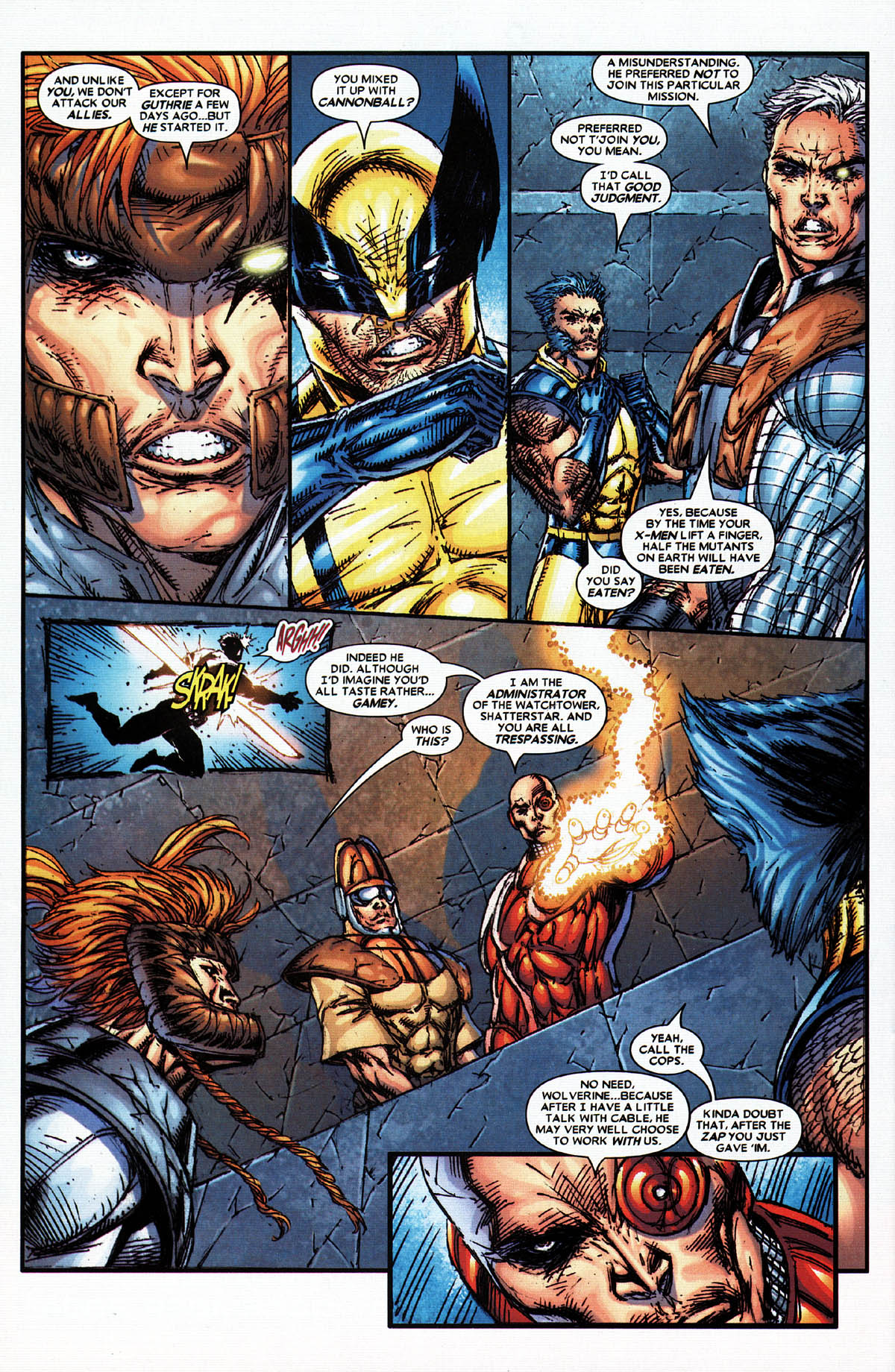 Read online X-Force (2004) comic -  Issue #4 - 20