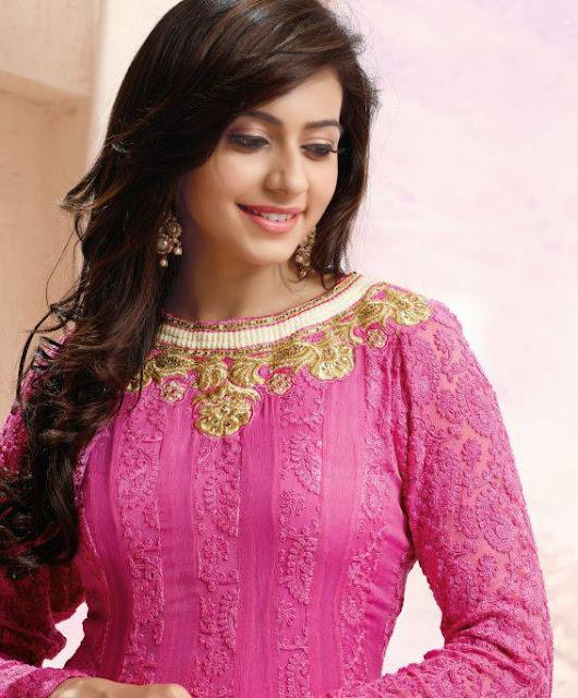 Rakul Preet Singh in pink top