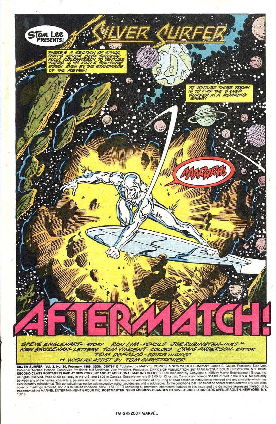 Read online Silver Surfer (1987) comic -  Issue #20 - 3
