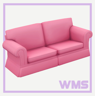 Wildlyminiaturesandwich dylan sofa bed for Sofa bed sims 4