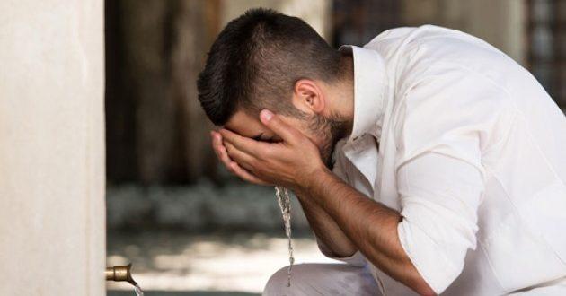 doa di setiap gerakan wudhu dari kepala sampai kaki