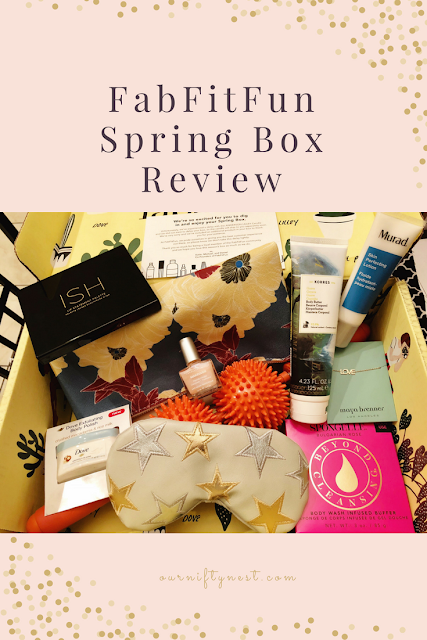 FabFitFun Spring Box Review header