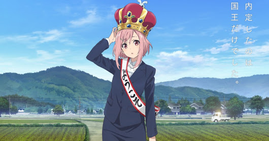 Sakura Quest Anime Promo Previews its Main Characters