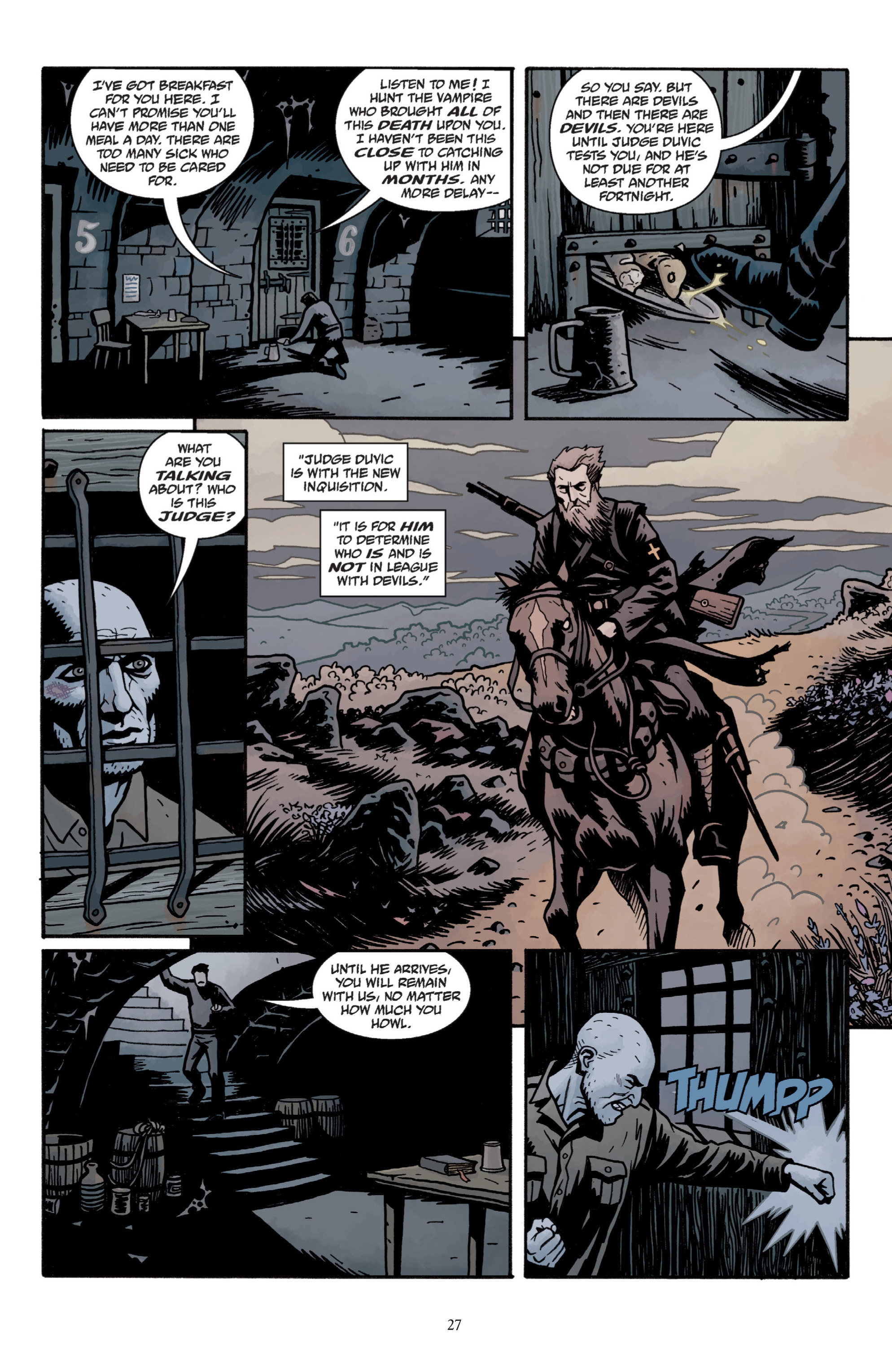 Read online Baltimore: The Plague Ships comic -  Issue # TPB - 29