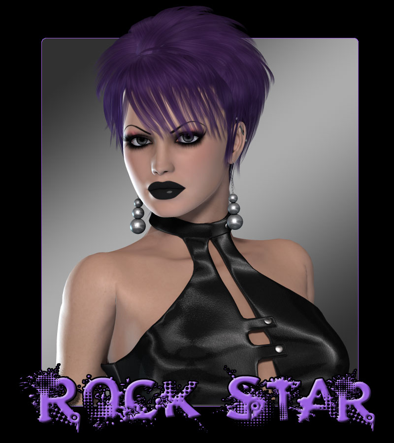 Pinkbizarre: Rock Star Hair Styles For Girls