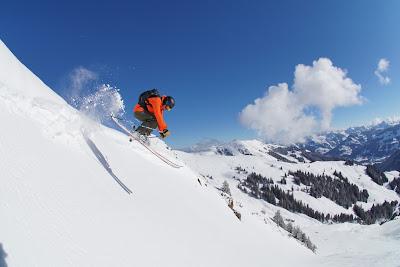 Techniktraining Skifahren