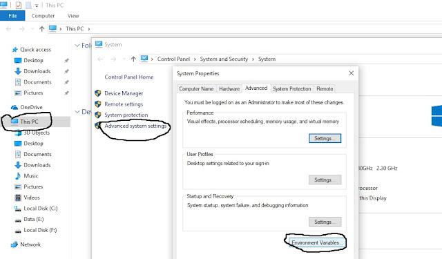 konfigurasi setelah instal python di windows