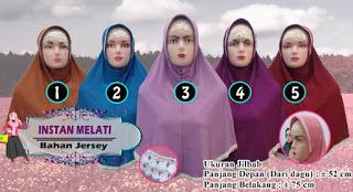jilbab instan modern dan modis murah 25ribuan