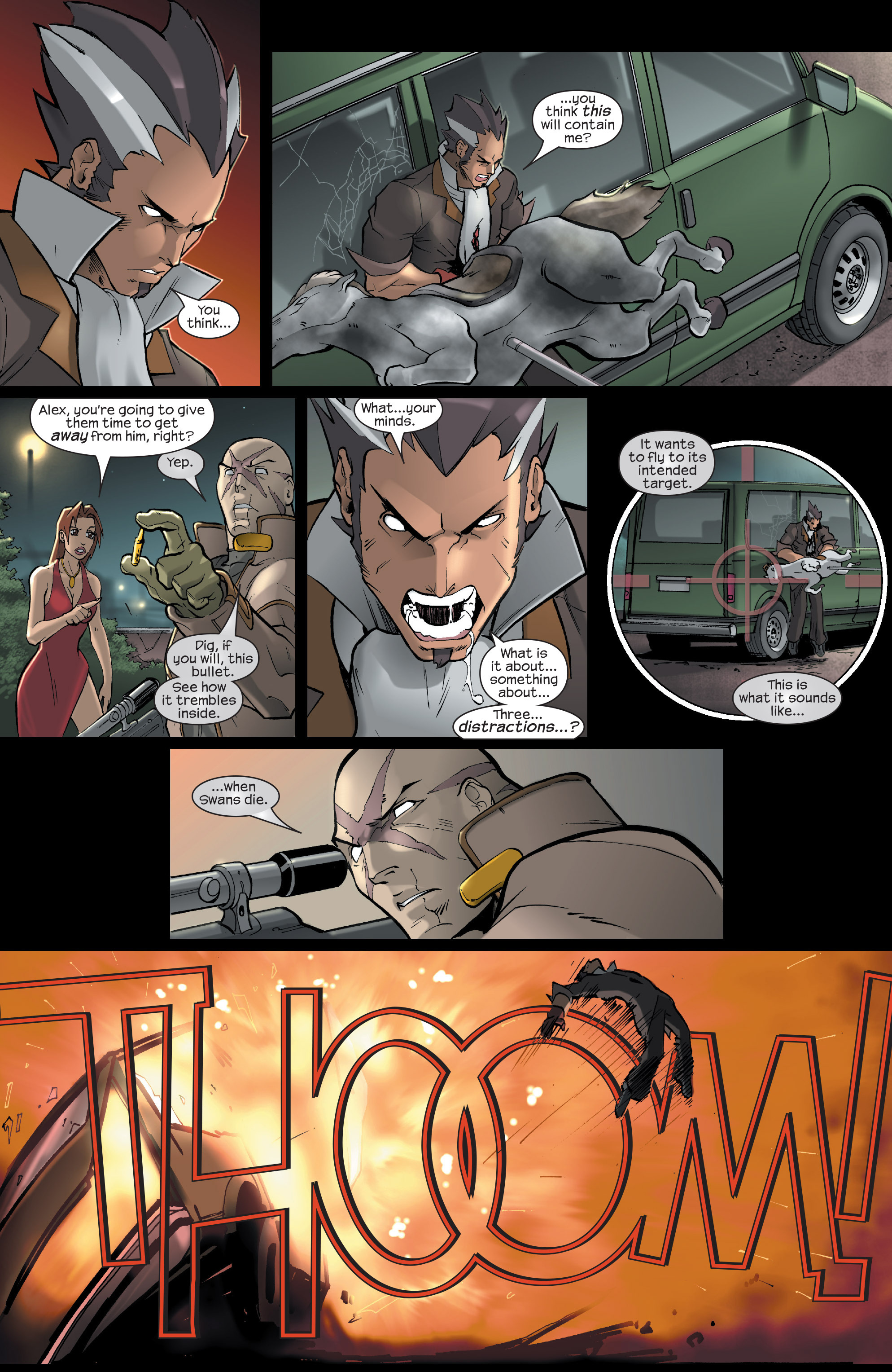 Read online Agent X comic -  Issue #15 - 19