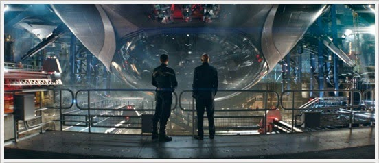 Captain America & Nick Fury