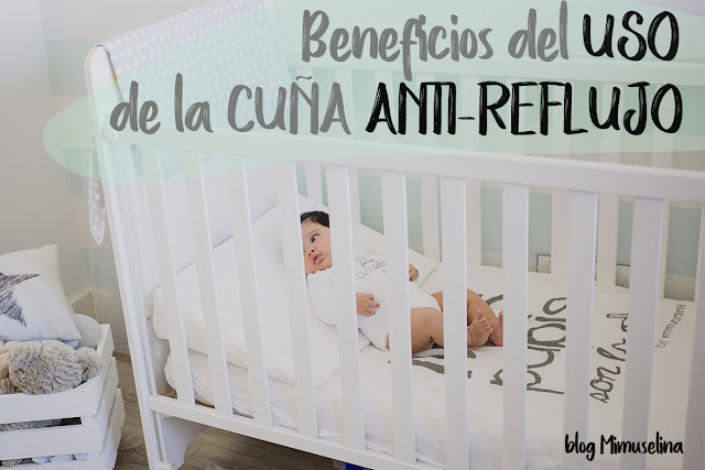 beneficios del uso de la cuña anti reflujo con bebés blog mimuselina