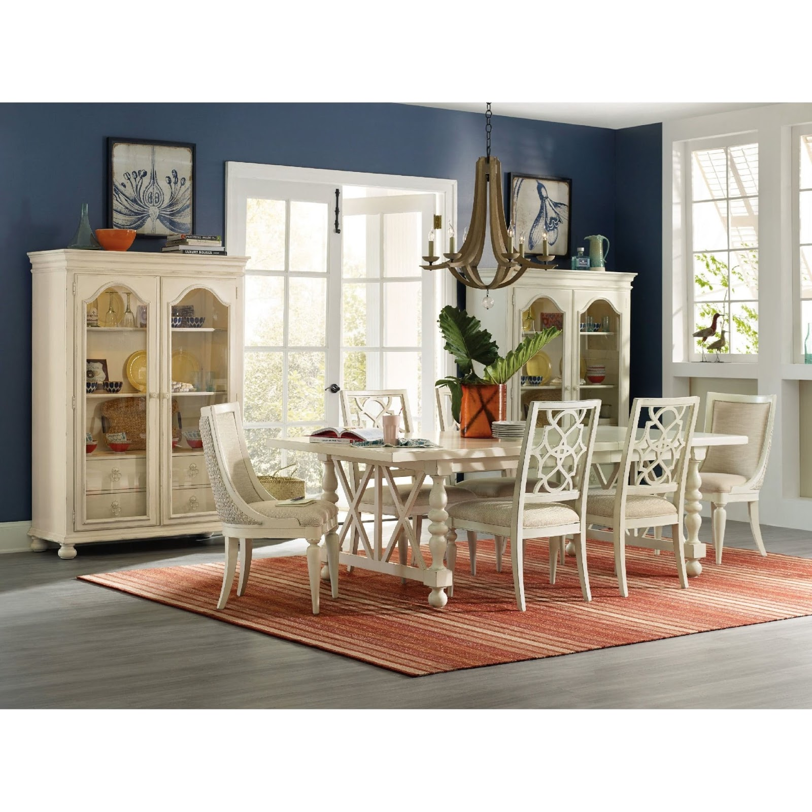 Baers Furniture Whimsical Dining Room