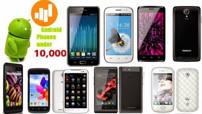 5 BEST ANDROID MOBILE PHONES UNDER 10000 RS (JANUARY