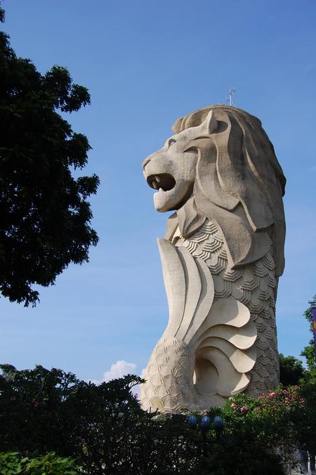 Merlion Statue Fantastic Travel