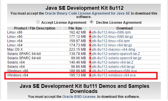 How to: download earlier (archive) releases of java products (jdk.