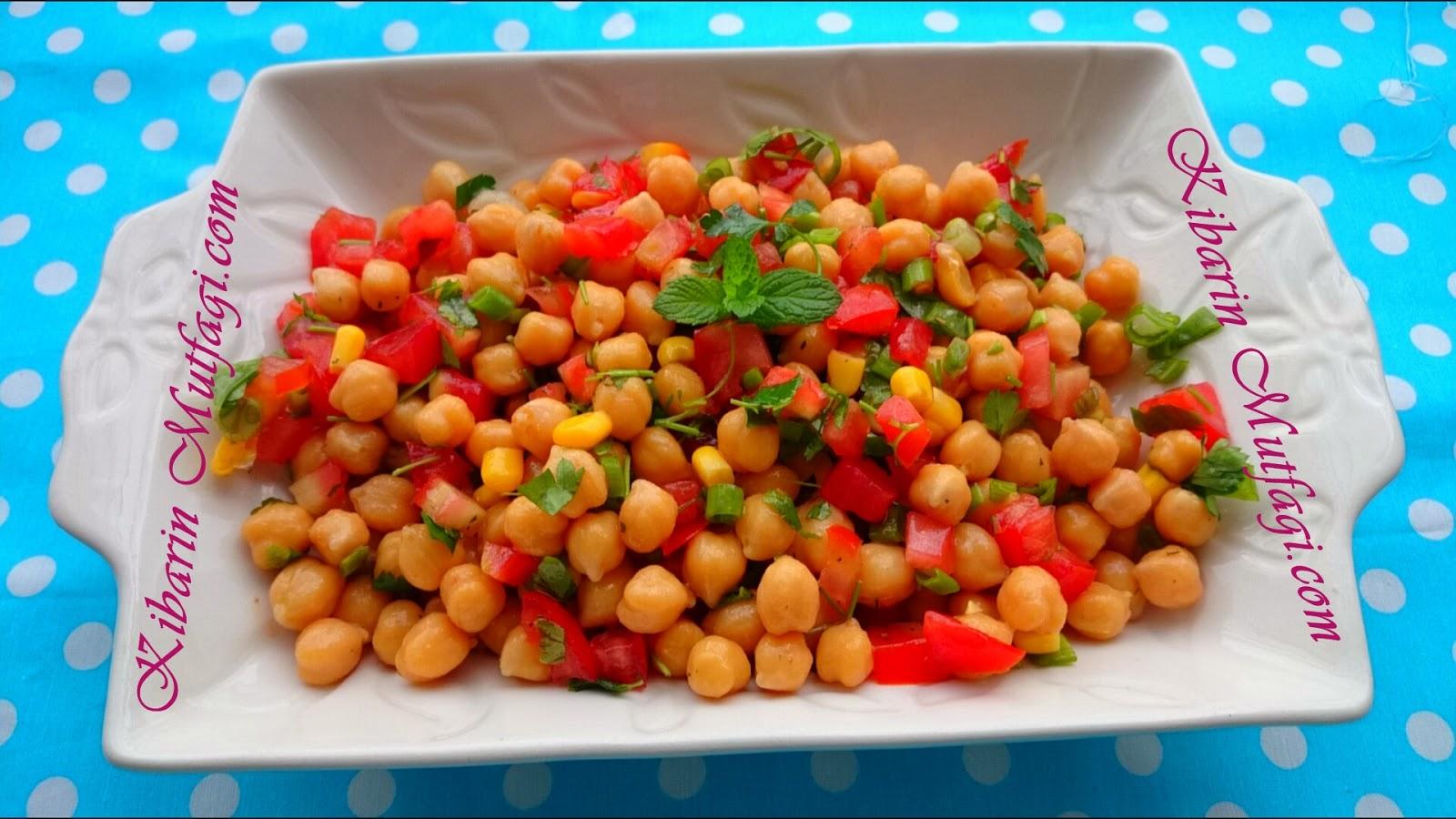 Nohut Salatası Tarifi Videosu