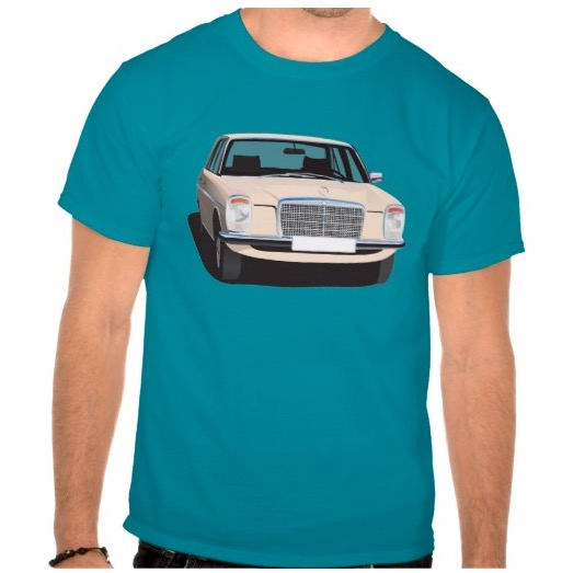 Mercedes-Benz w114 w115 t-shirts 70's