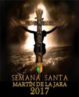 Cartel de Semana Santa de Martín de la Jara 2017