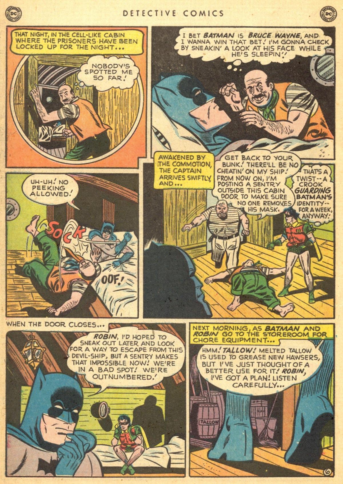 Read online Detective Comics (1937) comic -  Issue #170 - 8