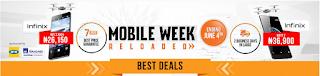 Best Jumia Mobile Week Deals/Offers in Phones and Tablets (day 1, day 2, day 3, day 4, day 5, day 6 and day 7) price in nigeria
